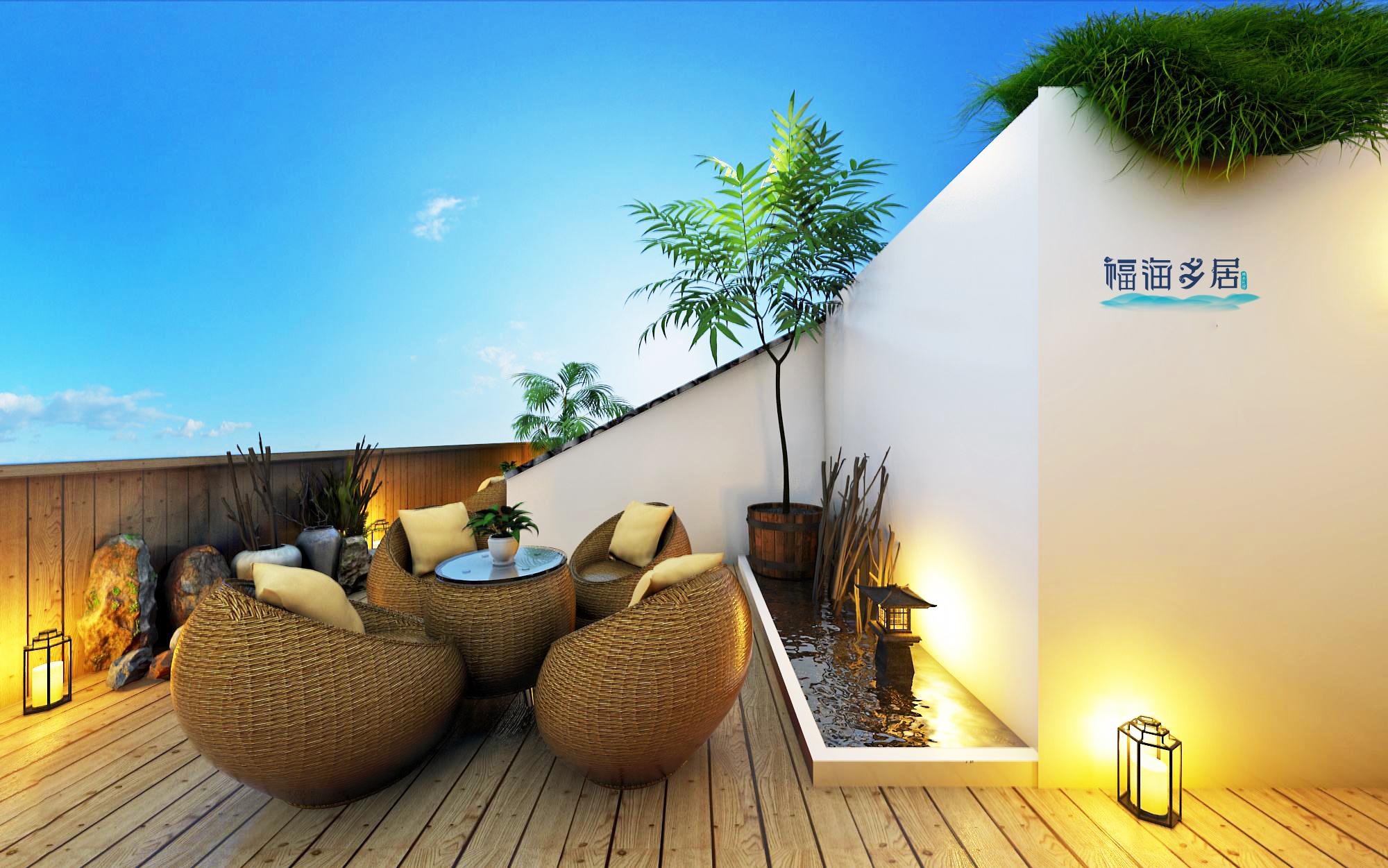 青岛品牌策划公司、青岛营销策划公司、青岛广告公司、青岛设计公司、民宿行业-福海乡居-LOGO设计